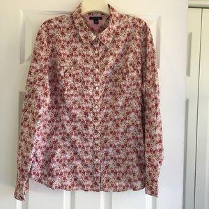 Tommy Hilfiger Button-Down Shirt- SZ XL